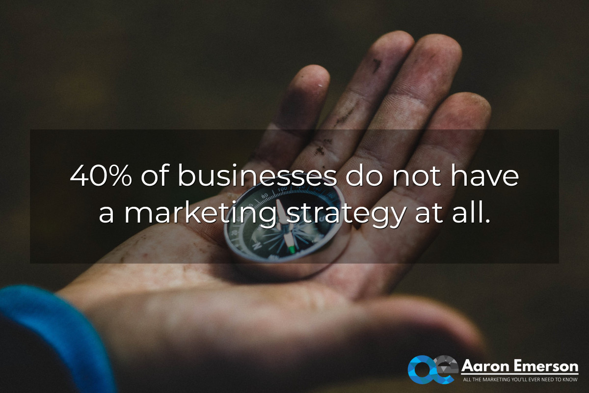 no marketing strategy